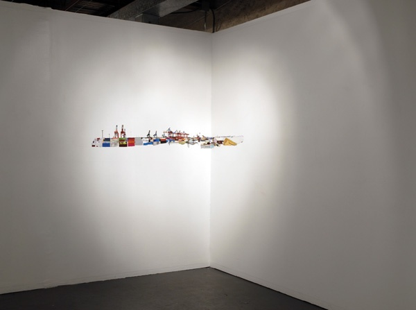 Salt Mountain Vista (installation view)