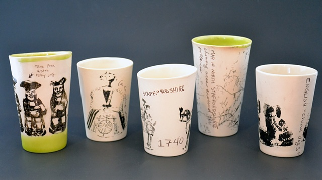 Staffordshire cups
