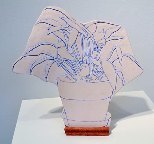 Souvenirs: Facade 4, stoneware