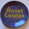 Hazel Louise Baby Plate