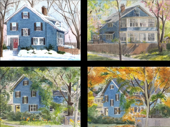 House in Evanston - Four Seasons