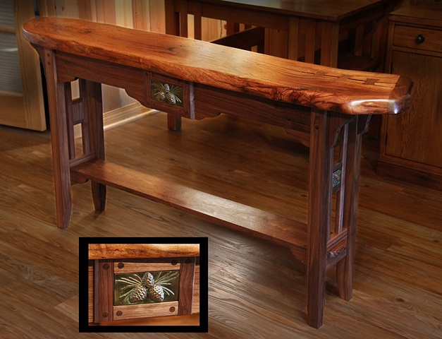 """Lodge Console Table"" SOLD"