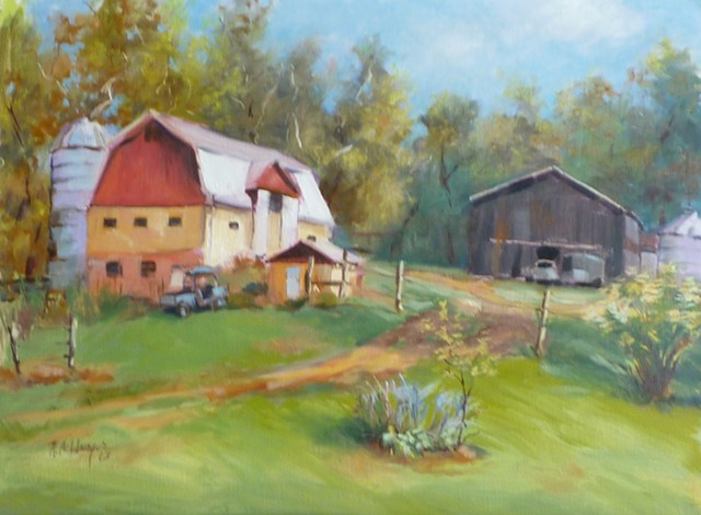 Farm and barns in Clermont County, Ohio
