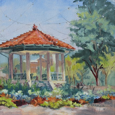 Gazebo, Washington Park, Cincinnati