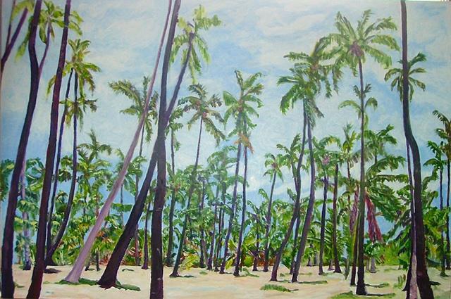 coconut grove, kaunakakai