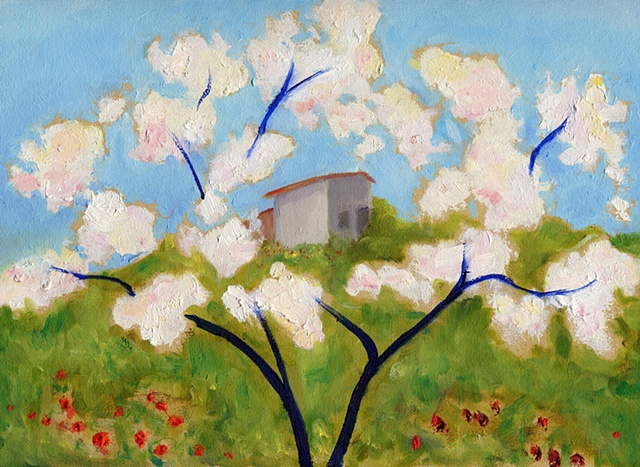 "After Kees Van Dongen's ""Printemps"""