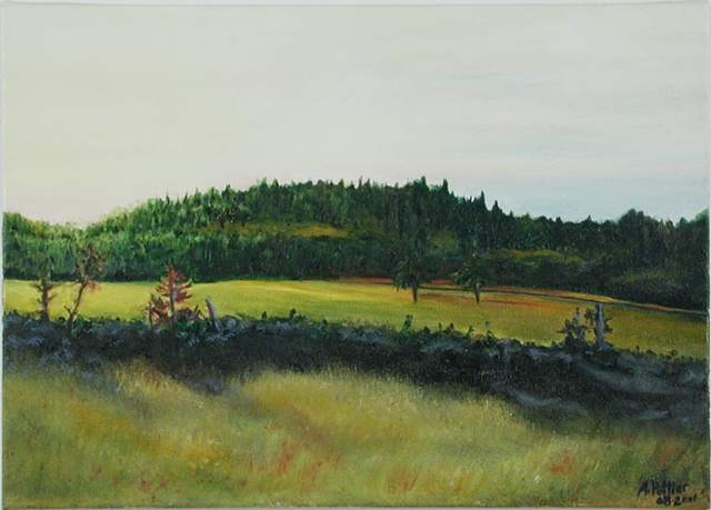 "La Butte à Thadé (""Thadé's Hill"") (Sold)"