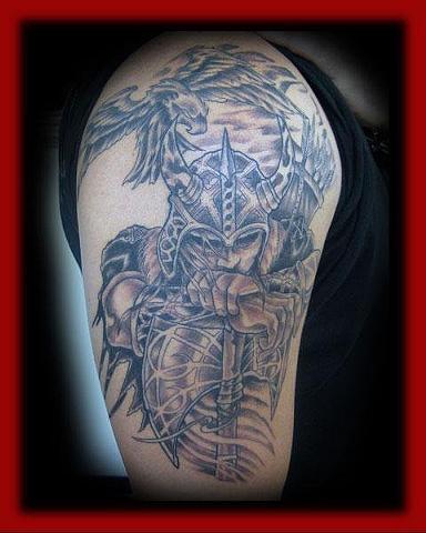 Barbarian/Fort City Tattoo