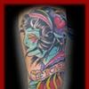Zombie Girl Head/Fort City Tattoo