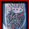Wolf/Fort City Tattoo