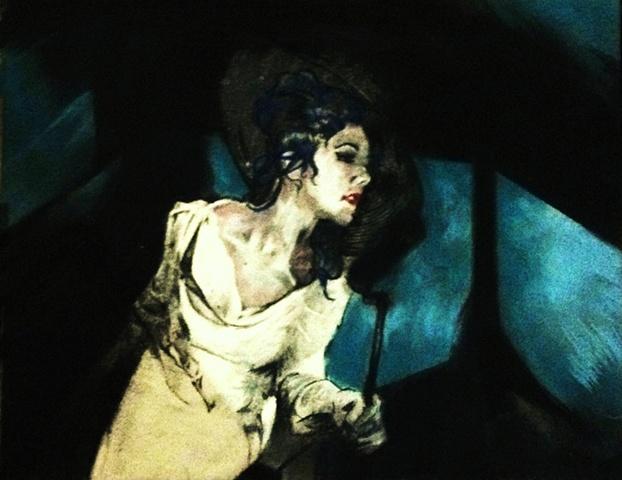 original album art: Ruby Rose Fox, Blue Light City