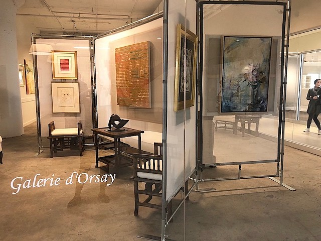Galerie d'Orsay 2nd venue at Boston Design Center, suite #204