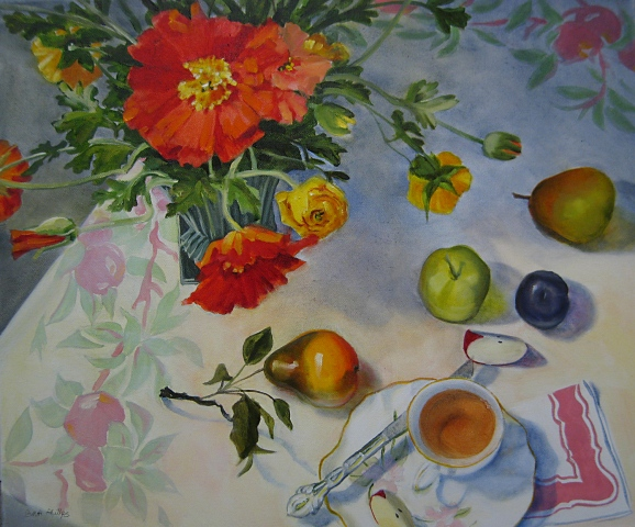 Poppies and Tea