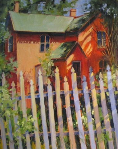 Picket Fence in Albion