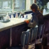 Solitary Diner