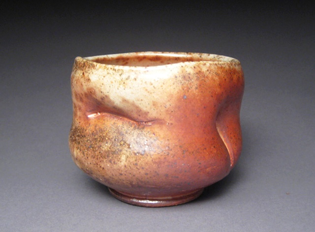 wheel thrown and altered stoneware, woodfired to cone 12