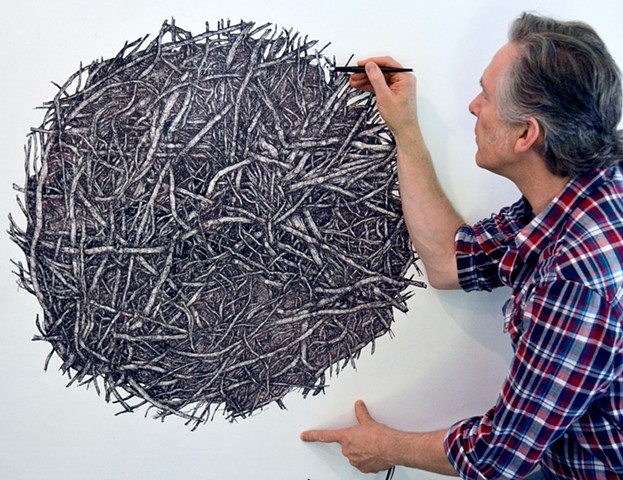 IAIN MACHELL   Drawings and Sculpture