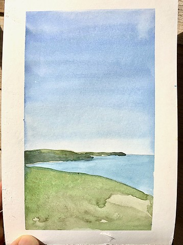 Sketchbook: Isle of Wight 1