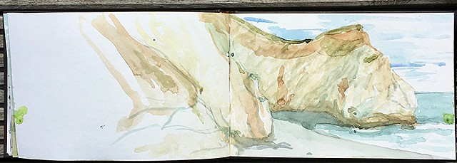 Sketchbook: Isle of Wight 11