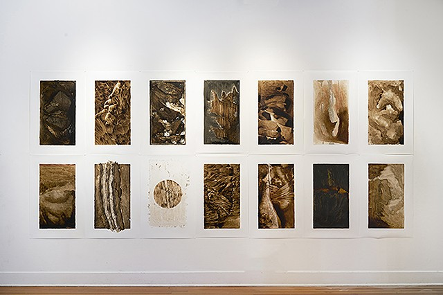 Installation view/ Rocks & Rivers series