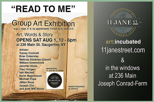 Read To Me at 11 Jane Street Art Center
