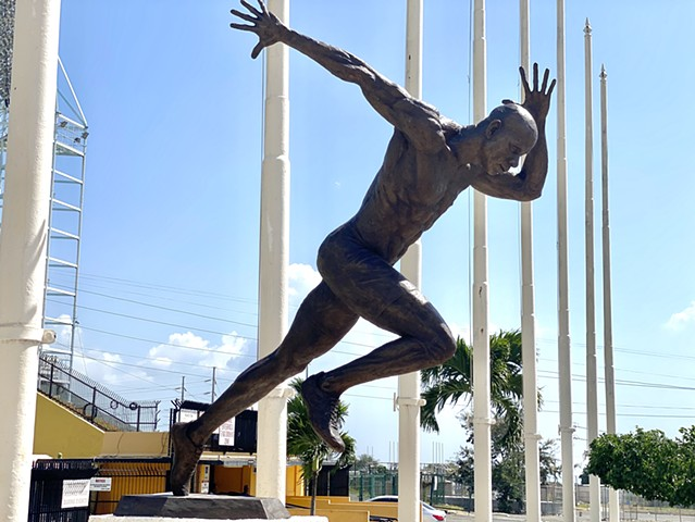 Most sub 10sec 100m in history. Kingston, Jamaica