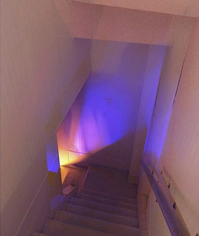 stairway light painting 1