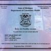 State of Mi license