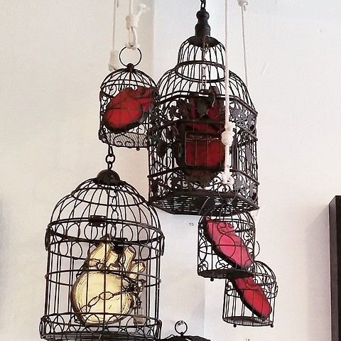 Caged Heart Installation
