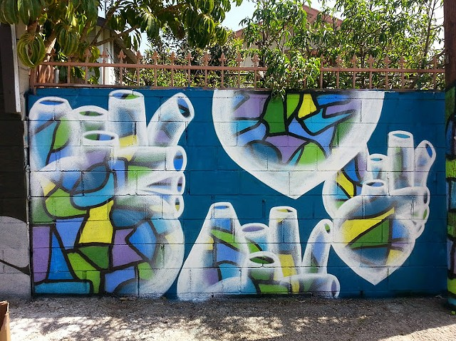Collaboration with Jason Ostro in Gabba Arts District