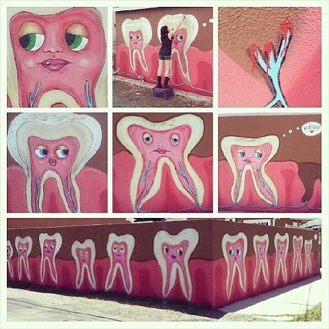 Reseda Teeth Collage