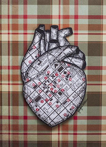 map heart, heart art, map art, korsen, downtown la art, dtla, los angeles art