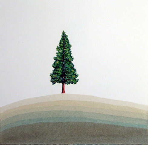 Hill and Tree