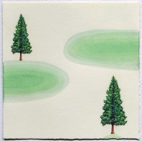 Pines and Greens