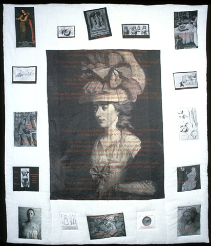 History Quilt, Francis Burney