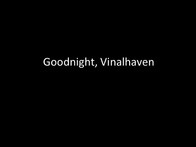 Goodnight, Vinalhaven