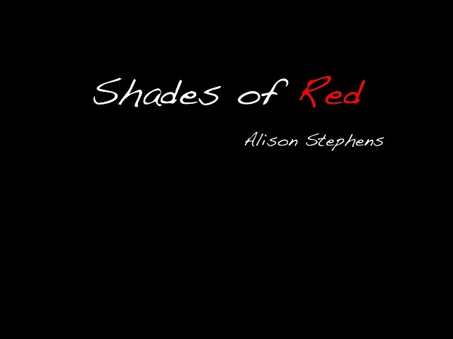 Alison- Shades of Red