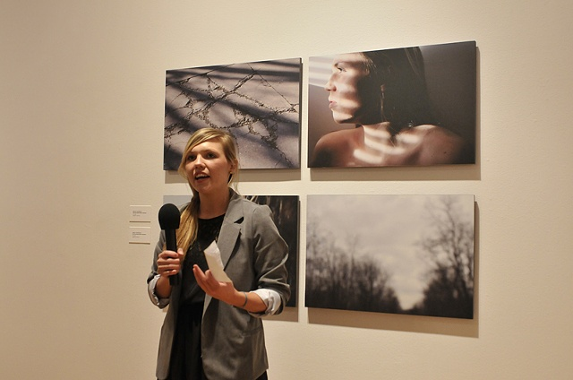 Emelie Johansson - Gallery Talk Senior Exhibit Spring 12