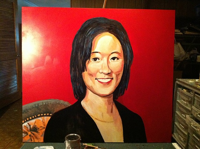Portrait of Eleanor Kong, Step 3