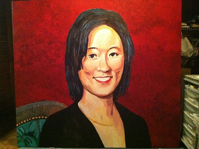 Portrait of Eleanor Kong, Step 4