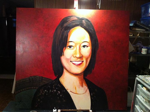 Portrait of Eleanor Kong, Step 6