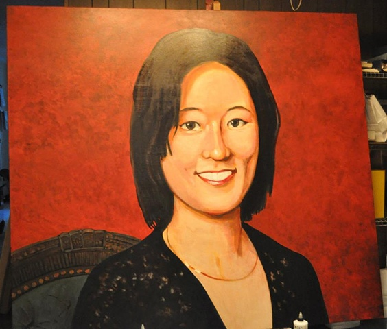 Portrait of Eleanor Kong, Step 7