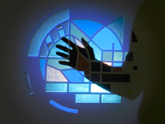 Projection installation for november Now exhibition