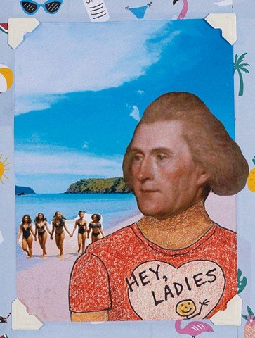 Founding Fathers: Spring Break (detail, Thomas Jefferson)