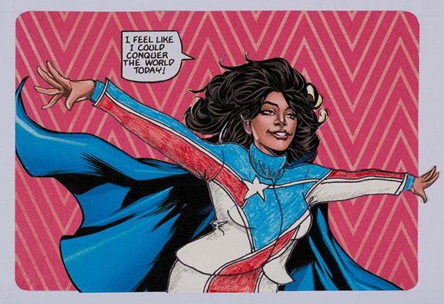 Pantsuit Nation (detail: La Borinqueña)