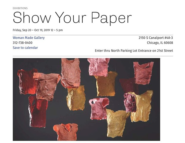 September 2019: Show Your Paper