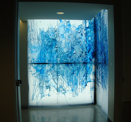 [Installation View 1] Blue Sublime
