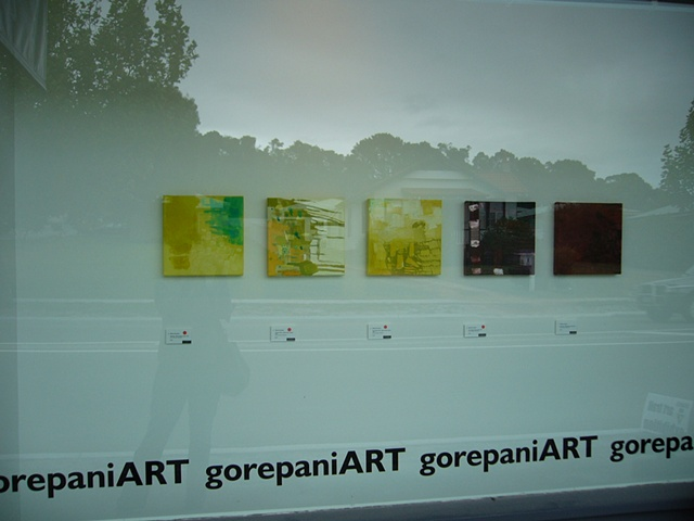 exhibition with part of mixed dozen series