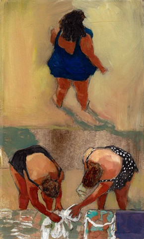 Women at Astoria Pool