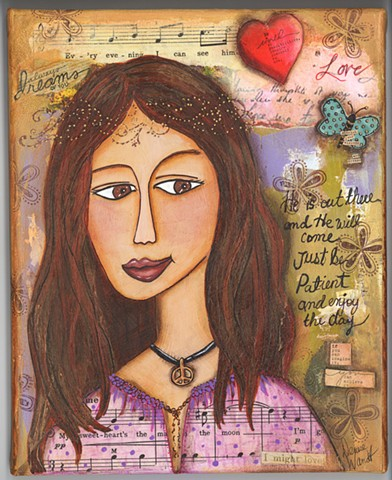 Dreamer of Love  Art Card